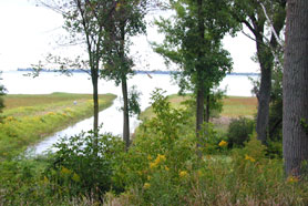 Vacant land - Waterfront: bay in Bay Port, MI